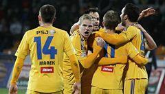 Trenér Rada zažil vítěznou premiéru. Jihlava porazila 2:1 Slovácko