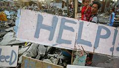 Člověk v tísni: Filipíny se vzpamatovávají pomalu, ale ubylo rabování