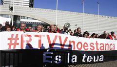 Španělská regionální televize RTVV přestala vysílat. Kvůli krizi