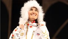 O olympijské oblečení je mimořádný zájem. Vede bunda a beranice
