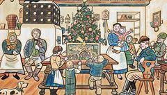 Muzeum Kampa vystavuje Ladovy idylické obrazy zimy a Vánoc