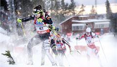 Závod biatlonistek byl kvůli nepříznivým podmínkám předčasně ukončen