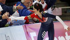 Třetí triumf v řadě. Sáblíková vyhrála závod na 3000 metrů v Berlíně