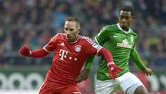 Bayern rozstřílel Brémy a počtyřicáté za sebou v bundeslize neprohrál