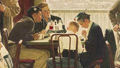 Rockwellův obraz se prodal za rekordních 46 milionů dolarů