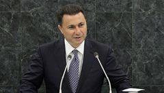 Vítězem předčasných voleb v Makedonii se stali vládní konzervativci