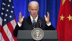 'Svobodně dýchat, svobodně mluvit.' Biden v Číně odsoudil cenzuru