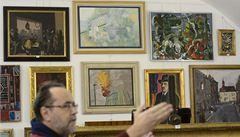 Do jarních aukcí se chystají obrazy za miliony