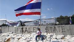 Konec protestů v Thajsku? Premiérka navrhuje referendum