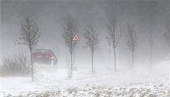 O Vánocích hrozí na Moravě a ve Slezsku silný vítr a námraza