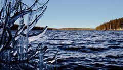 Zimní ukolébavka ve finském národním parku Oulanka