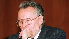Zemřel Rudolf Filkus, místopředseda poslední československé vlády