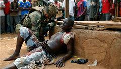 Čech ve Středoafrické republice: Krveprolití tu vidíme na vlastní oči