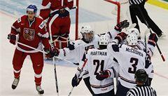 Čeští hokejisté na úvod juniorského MS prohráli s USA 1:5