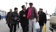 Bývalé hvězdy NBA v KLDR: Rodman a spol. zahrají Kimovi k narozeninám