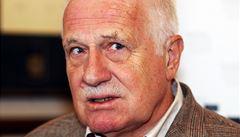 Jsem proti bourání a likvidování lustračního zákona, říká Václav Klaus