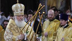 Ruský patriarcha: Západ diskriminuje křesťany. Lidé, vzpamatujte se!