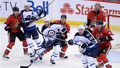 V NHL se trefili Michálek, Eliáš i Havlát. Ale prohry neodvrátili