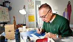 Havel 80: Abychom nezapomněli, udělal jsem kresbu, říká umělec Votruba