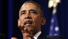 Chci na Krymu pozorovatele a od vás písemné záruky, řekl Obama Putinovi