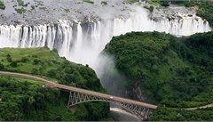 Viktoriiny vodopády - dokonalé místo pro aktivní dovolenou