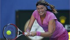 Kvitová útočí v Indian Wells na čtvrtfinále. Cítím se dobře, tvrdí