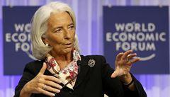 Lagardeová: Není potřeba Řecku dluh odpustit, stačí upravit podmínky splatnosti