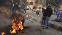 Při násilných protestech v Egyptě zemřelo za 24 hodin 49 lidí