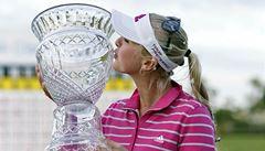 Golfistka Kordová slaví na Bahamách druhý titul LPGA v kariéře