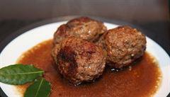 Neotřelá chuť Belgie: zkuste masové koule s hořko-sladkou omáčkou
