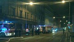 V bytě na Praze 5 vypukl požár. 11 lidí bylo evakuováno