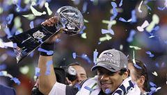Seattle po drtivé výhře nad Denverem poprvé ovládl Super Bowl