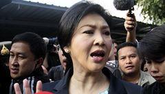 Premiérka zneužila svou moc, rozhodl thajský soud. Hrozí nové nepokoje