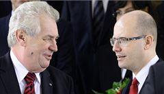 Zeman svým chováním znehodnotil akt jmenování vlády, tvrdí Špaček