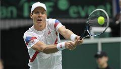 Češi jsou ve čtvrtfinále Davis Cupu! Třetí bod vybojoval Berdych