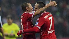 Bayern nasázel Frankfurtu pět gólů, Češi se radovali v dresu Norimbeku