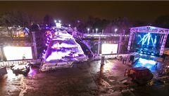 Olympijští vítězové slavnostně otevřeli sportovní park na Letné