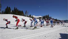 Vrabcová skončila ve skiatlonu jedenáctá, zlato bere Björgenová