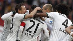 Bayern zvítězil v Norimberku a dál vede bundesligu o 13 bodů
