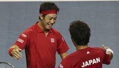 Davis Cup: Japonsko sahá po historické výhře, Španělé jdou do baráže