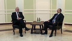 Zeman se v Soči sešel s prezidenty Číny, Ázerbájdžánu a Tádžikistánu