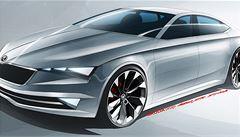 Škoda představila novou Octavii kupé. Nese název Vision C