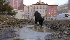 Temná strana olympiády. Vesnice vedle Soči přišla i o pitnou vodu