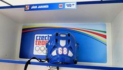 VIDEO: Jágr ukazuje českou kabinu. Všechno řeší koutek starších, říká