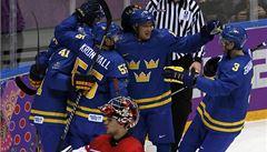 Češi se po gólové smršti Švédů zvedli, přesto začali olympiádu prohrou