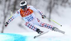 Bank senzačně útočil na medaili v obřím slalomu. Skončil pátý