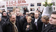 Tymošenková chce kandidovat na prezidentku, tvrdí Kličko