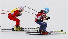 Skikrosařky Zemanová a Kučerová vypadly v osmifinále