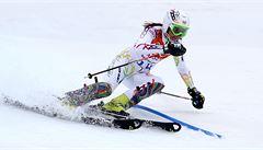 Olympijský slalom: Strachová dojela desátá, zlato bere Shiffrinová