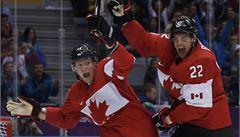 Kanadě stačil v semifinále jediný gól, bitvu velmocí rozhodl Benn